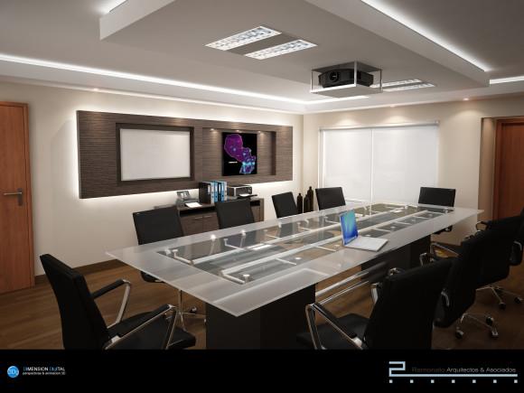 3d oficinas corporativas dise o interior mobiliario for Diseno de oficinas corporativas