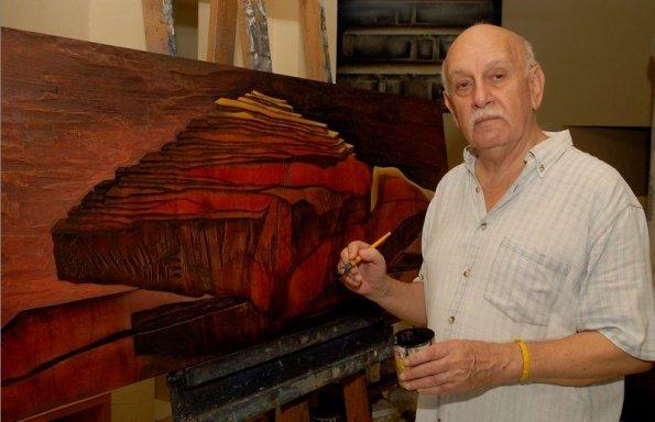 Nuestro homenaje al gran artista plástico Carlos Colombino.    Arquitectos.com.py   Paraguay, Galería Social de Arquitectura paraguaya,  construcción, proyectos, diseño, 3d, casas, viviendas, edificios, oficinas.