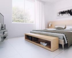 render diseño propuesta dormitorio