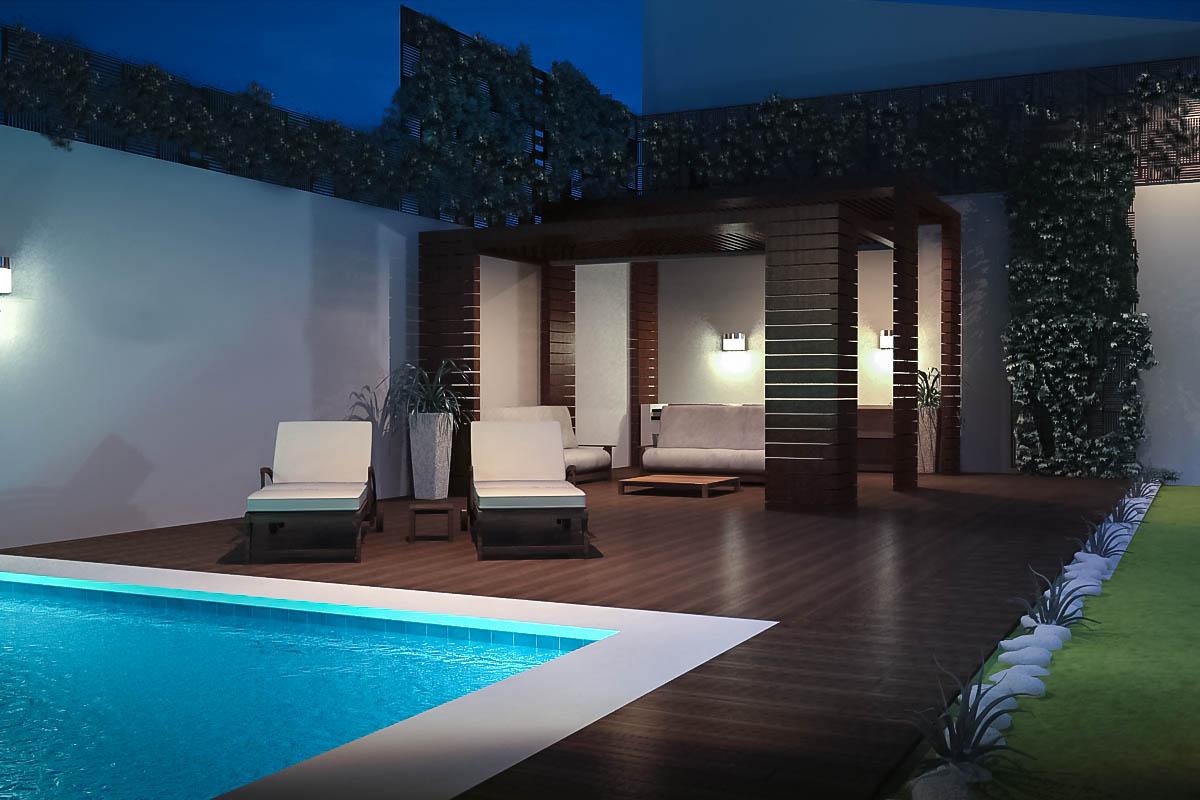 3d decking reforma de vivienda render for Software diseno piscinas