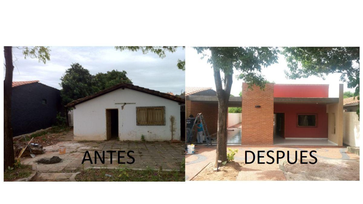 Ampliaci n y reforma de vivienda paraguay galer a social de - Casas reformadas antes y despues ...