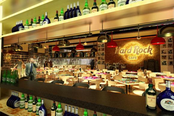 escenario Hard Rock Café Asunción