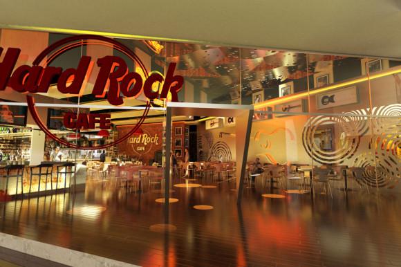 interiorentrada Hard Rock Café Asunción