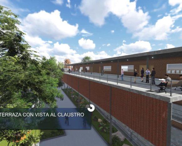 3D Animación Centro de Capacitación Técnica y Profesional en Ypané Render