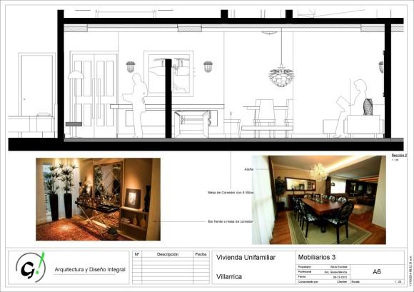 Vivienda Villarrica-Sady-DiseñoInterior - Sheet - A6 - Mobiliarios 3