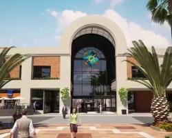 3D Animación Shopping del Sol Ampliación Render
