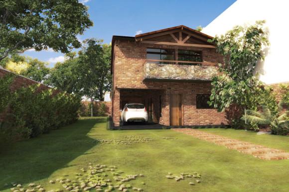 casa fachada nueva