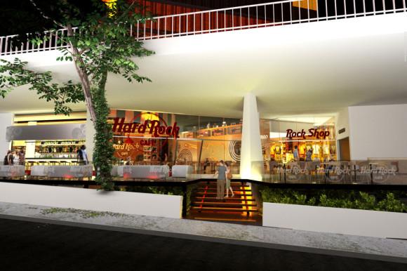 Proyecto Ganador Hard Rock Café Asunción - Biocons Arquitectos