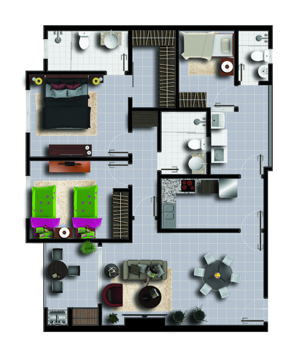 Planta Inmobiliaria A