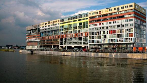 silodam vivienda social mixta mvrdv