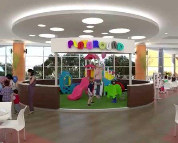3D Animación Shopping Mariscal López Ampliación