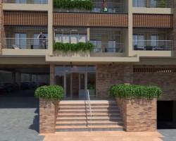 3D Animación Edificio Villa Frieda Render