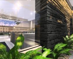 3D Animación Viviendas Pareadas Render