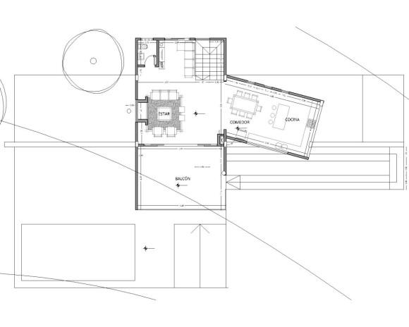 planta alta vivienda 2 vistas