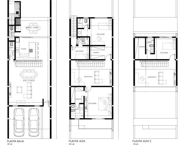 planos-plantas-vivienda-casa-duplex